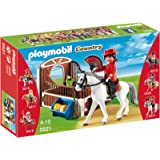 Playmobil - 5521 - Cheval Andalou et son paddock