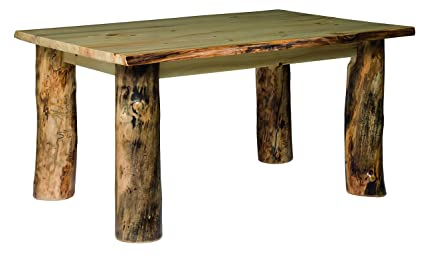 Amazoncom Rustic Aspen Dining Table 36 X 48 Tables