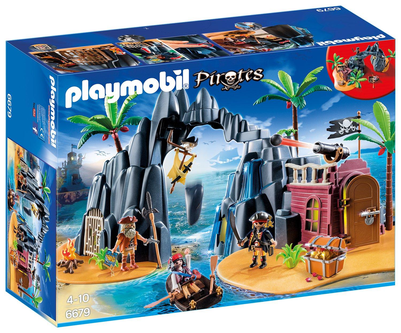 Playmobil Piraten Schatzinsel amazon