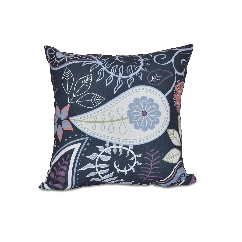 E by design O5PFN434BL14-20 Printed Outdoor Pillow