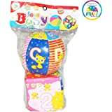 Smiles Creation Educational and Musical Soft Ball with Attractive and Bright Colour Toy for Kids