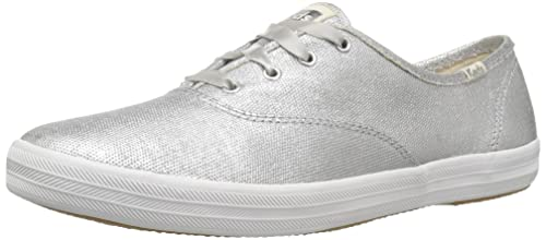 d1f6ec5e62b28 Keds Champion Matte Brushed Metallic Women 5 Silver