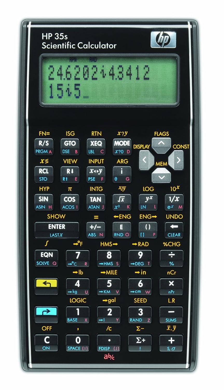 HP 35S Calcolatrice Scientifica, Nero F2215A