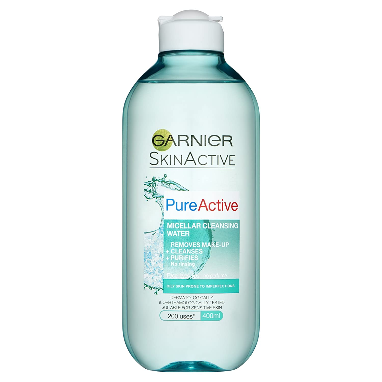 Pure Active Micellar Water Oily Skin 400ml Beauty Garnier Acne Oil Clearing 100ml