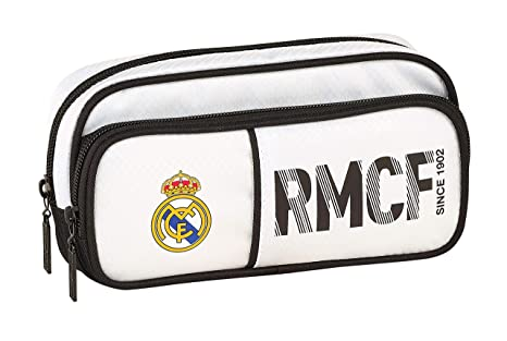 Real Madrid 811854602 2018 Estuches 21 cm, Blanco: Amazon.es ...