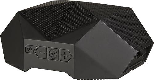 Outdoor Tech OT2800-B Turtle Shell 3.0 – Rugged Waterproof True Wireless Bluetooth Hi-Fi Speaker, Black