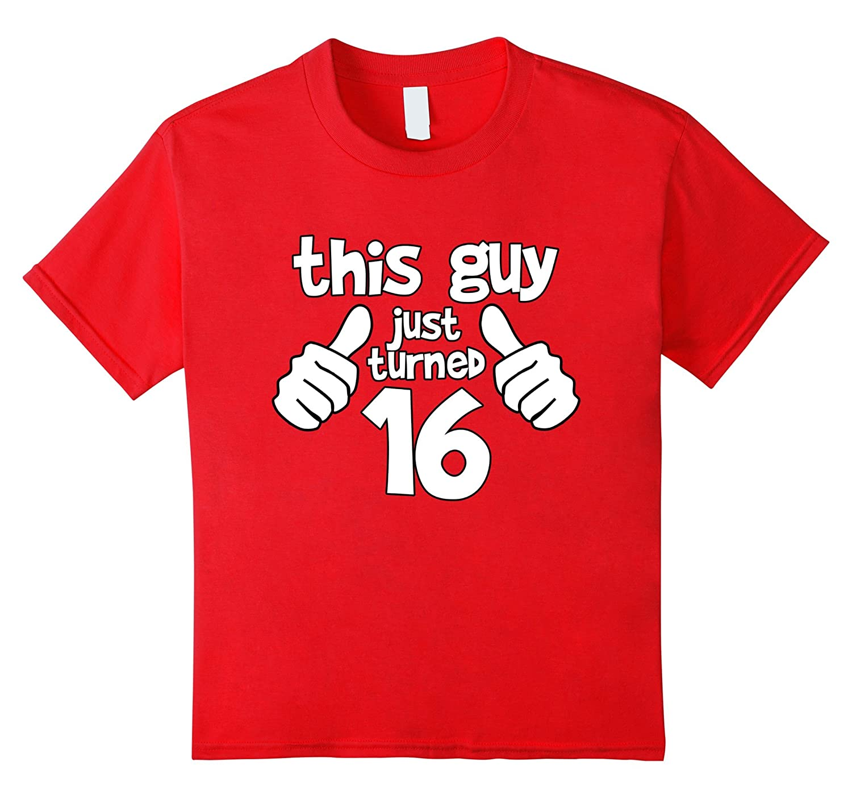 SIXTEEN Years Birthday T shirt Medium-Xalozy
