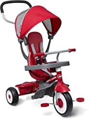 Radio Flyer 4-in-1 Stroll 'N Trike, Red, 19.88