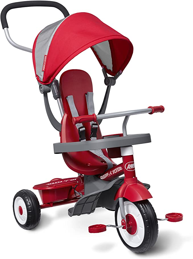 Best Tricycle for Toddlers: Radio Flyer 4-in-1 Stroll 'N Trike