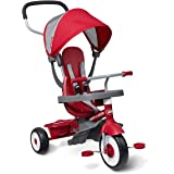 Radio Flyer 4-in-1 Stroll 'N Trike, Red