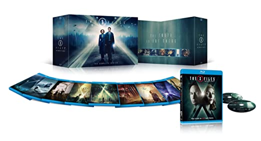 [Amazon Canada][Amazon ca] X-files season 1 - 10 blu ray $99.99