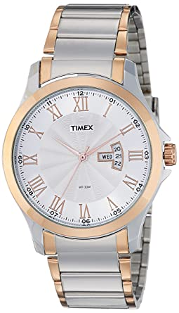 bc0bc0323cf Timex Analog Silver Dial Men's Watch-TW000X109