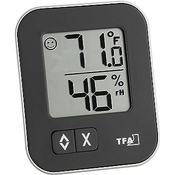 Hygrometer gibt es manuell und digital.
