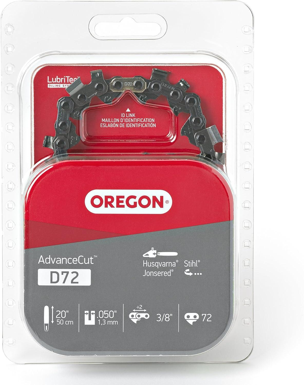 Fits Husqvarna 2 Pack Remington Stihl and Others Makita Oregon D72 AdvanceCut 20-Inch Chainsaw Chain