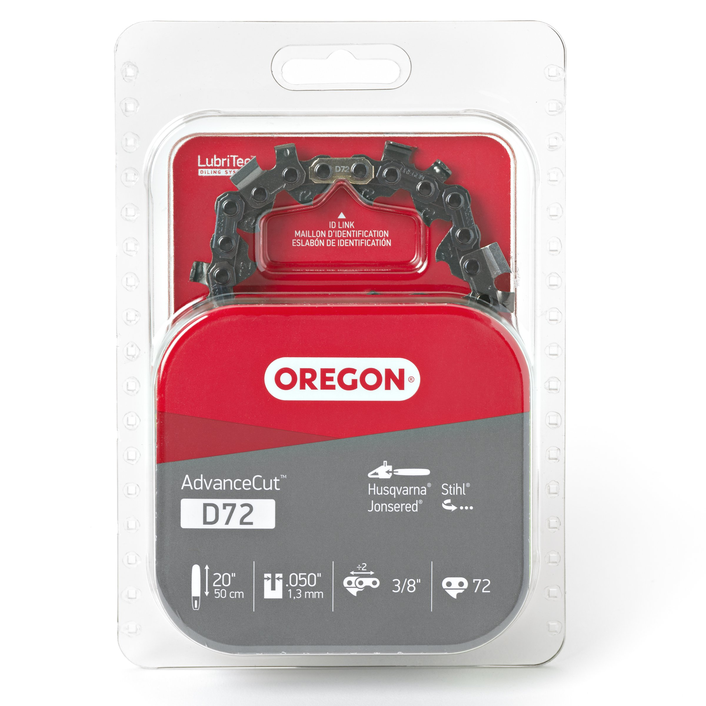 Oregon D72 AdvanceCut 20-Inch Chainsaw Chain, Fits Husqvarna, Remington, Makita, Stihl and others by Oregon