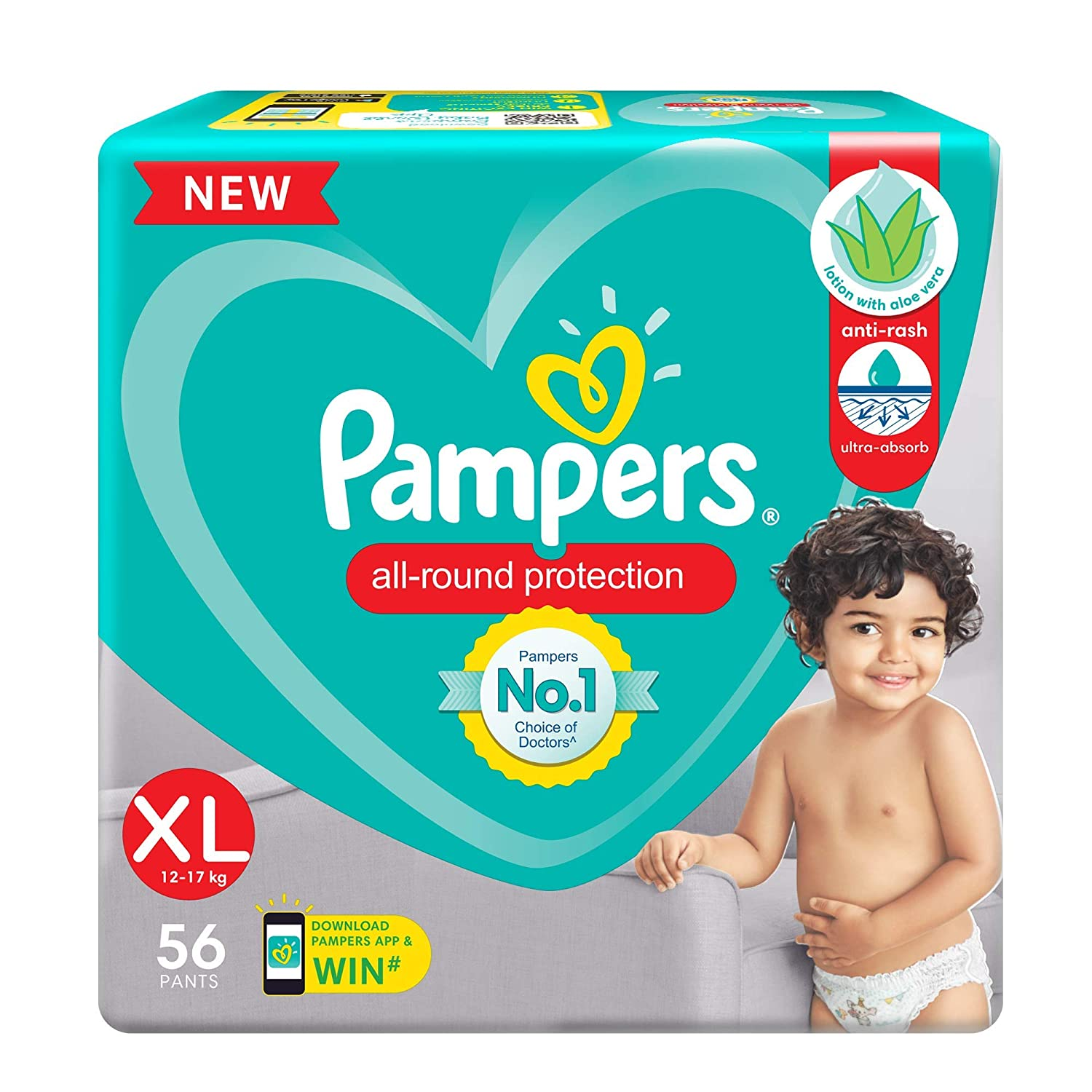 pampers pants xl 56
