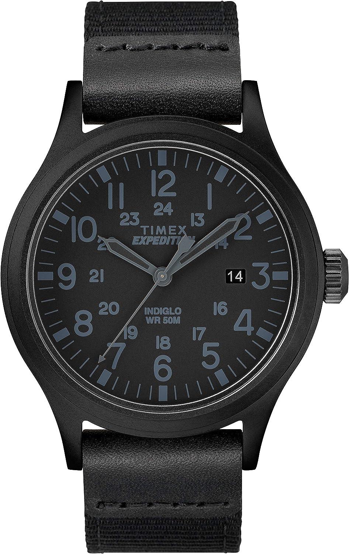 Timex Reloj análogico de cuarzo para Hombre con correa de nailon