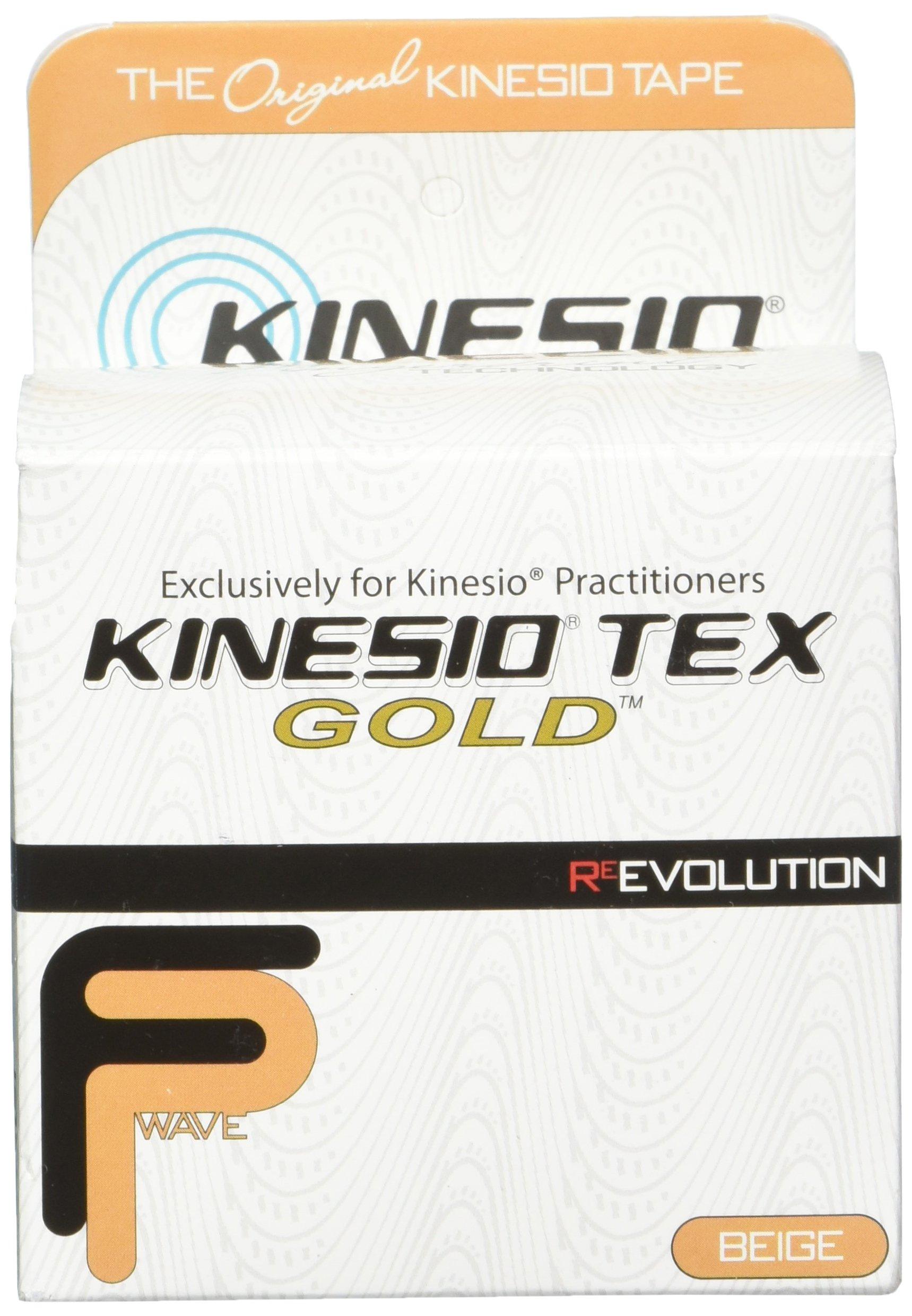 "Kinesio Tex Gold FP 3"" x 16.4', Beige, Single Roll"
