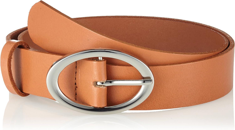 PIECES Pctesia Leather Jeans Belt, Cinturón para Mujer