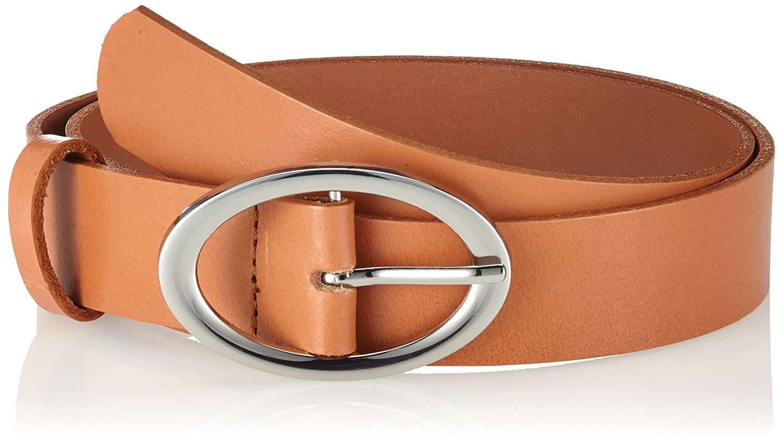TALLA 100 (Talla del fabricante: 85). PIECES Pctesia Leather Jeans Belt, Cinturón para Mujer
