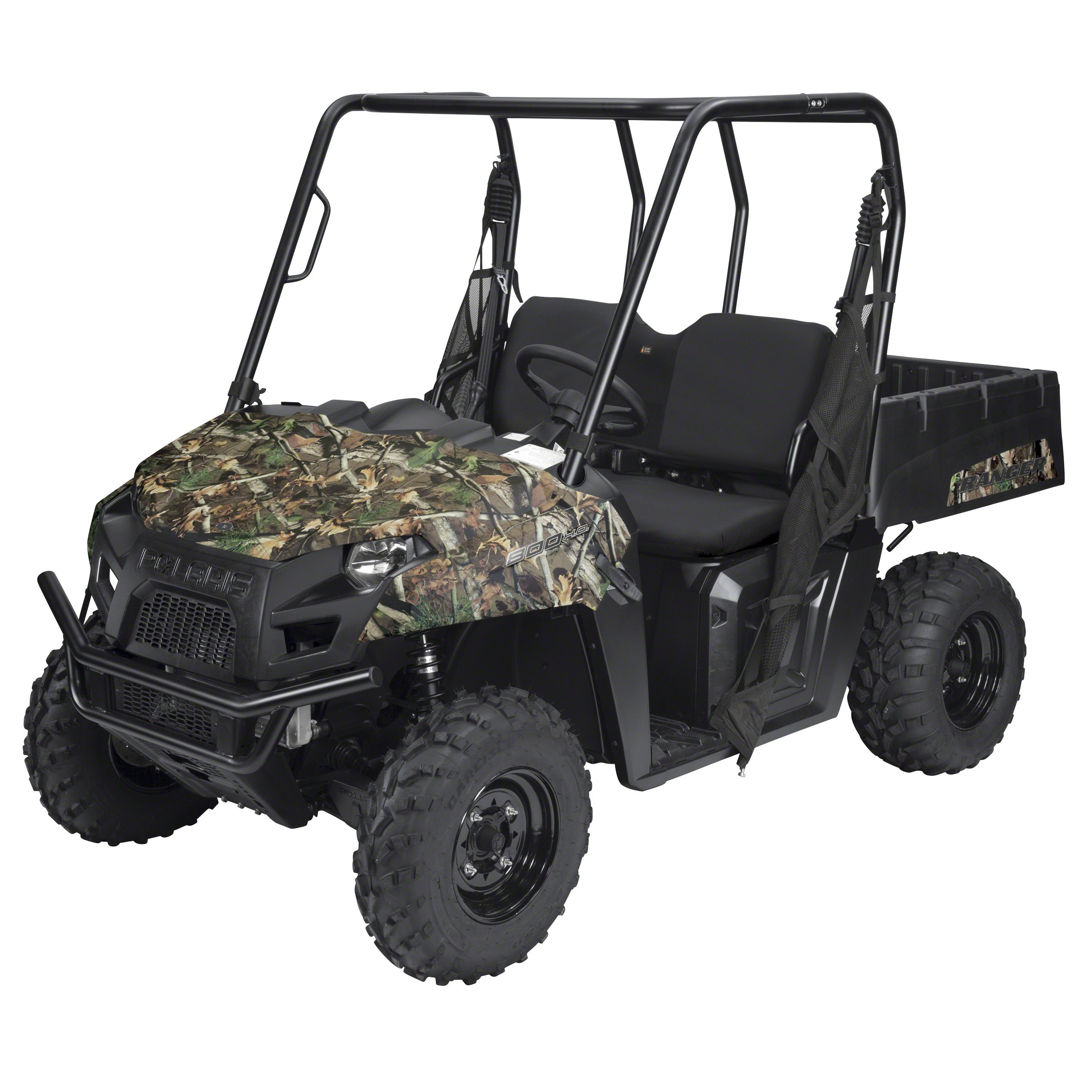Classic Accessories 18-140-010403-00 Black QuadGear UTV Bench Seat Cover