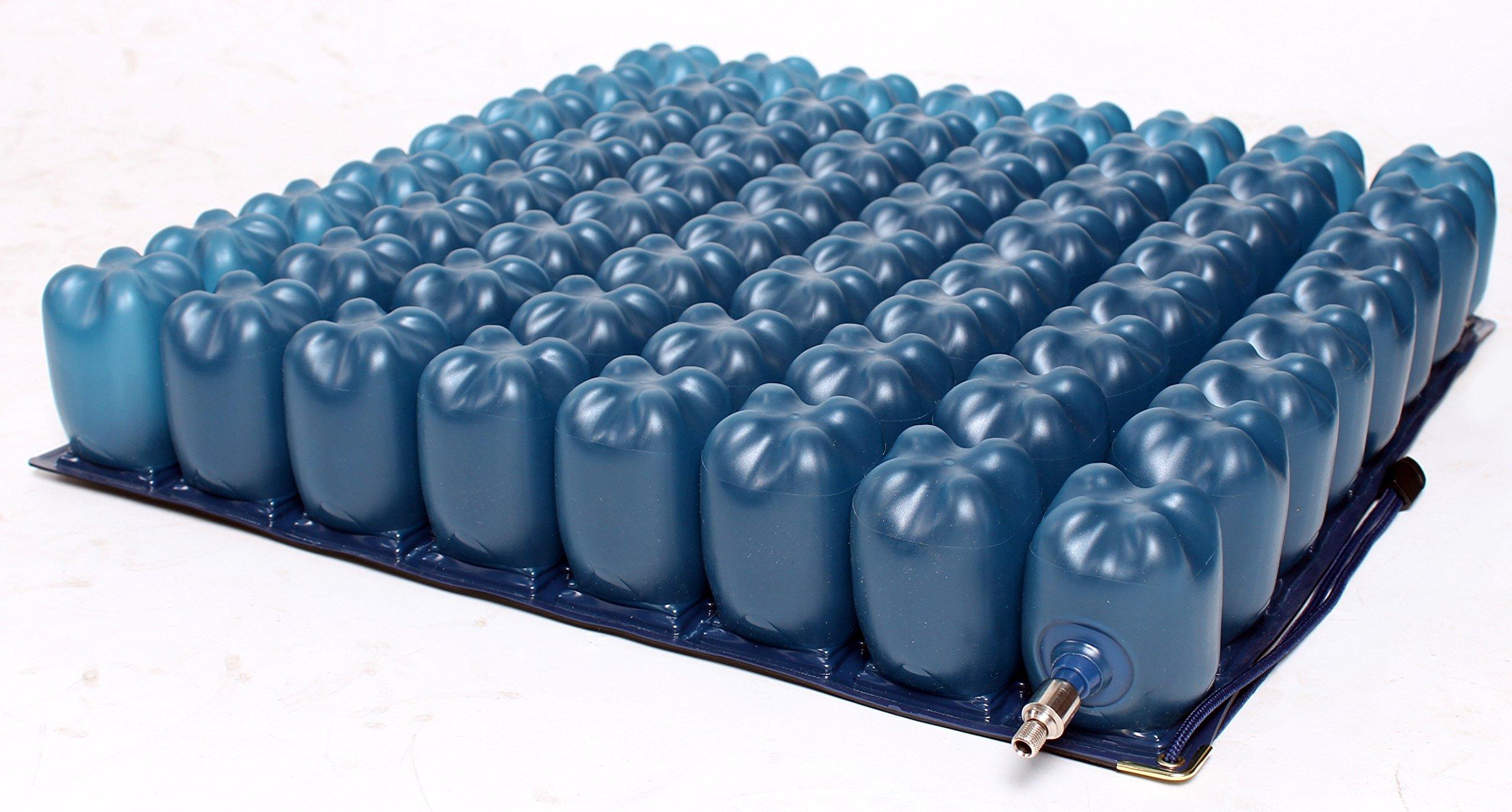 Kolbs Cushions Air Cell Low Profile Wheelchair Seat Cushion, 16 by 16 Inch