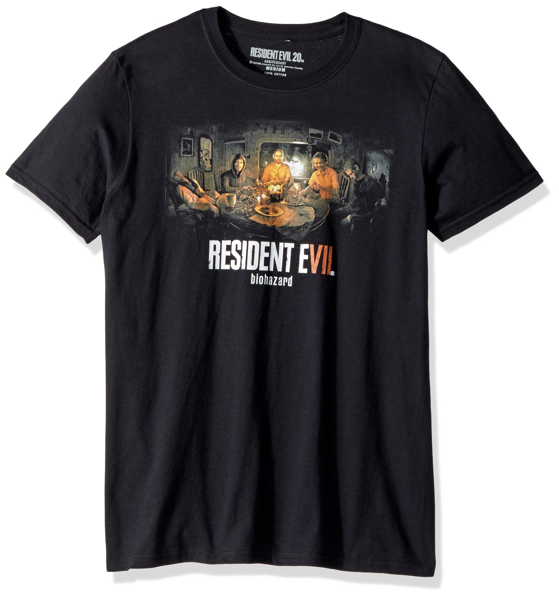 Resident Evil Biohazard Adult Short Sleeve Shirts