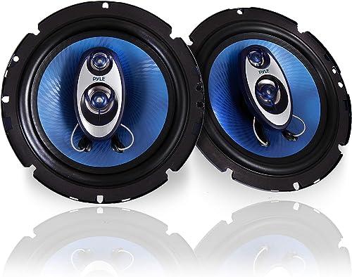 Pyle PL63BL Three-Way Sound Speaker System