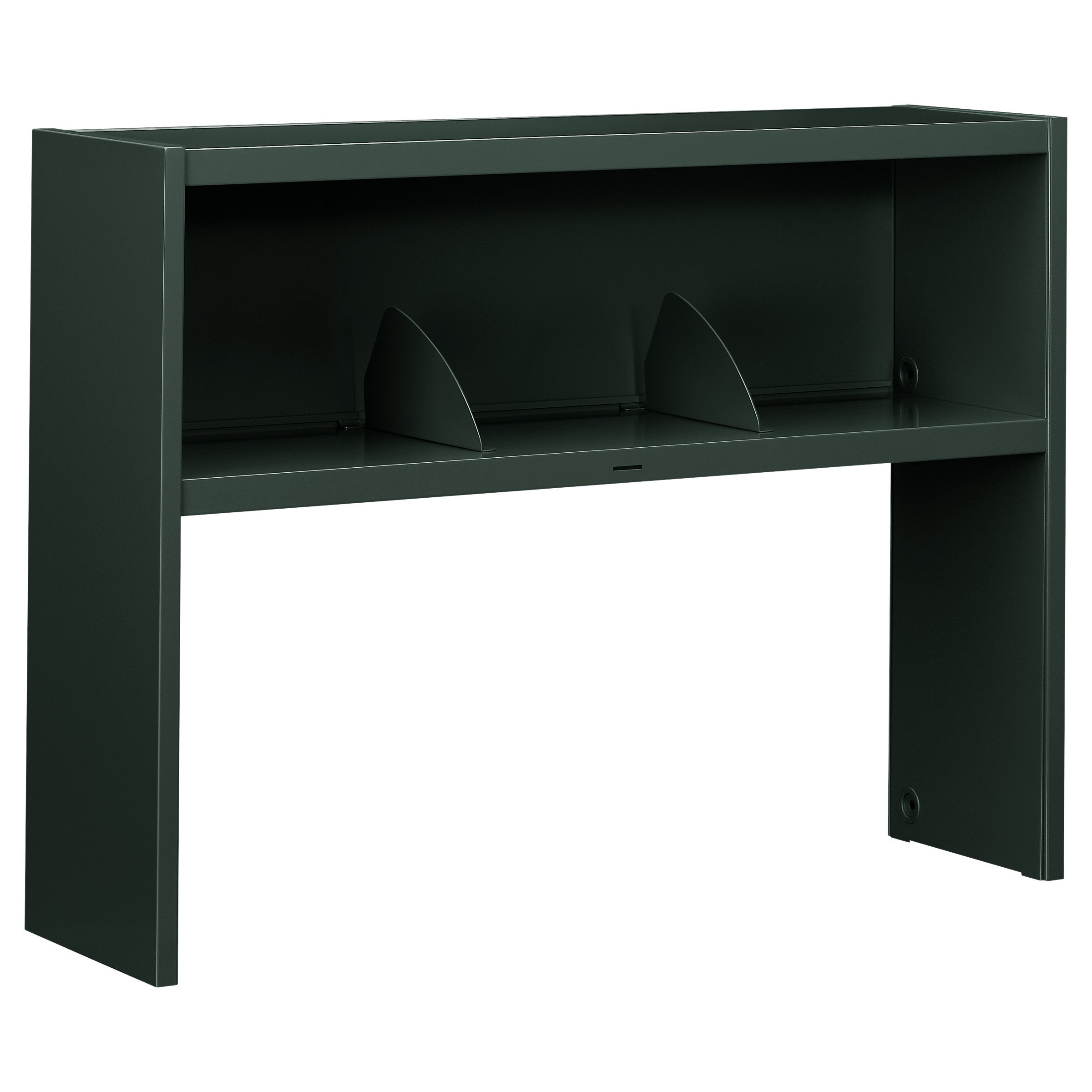 HON 386548NS 38000 Series Stack On Open Shelf Hutch, 48w x 13 1/2d x 34 3/4h, Charcoal by HON (Image #1)