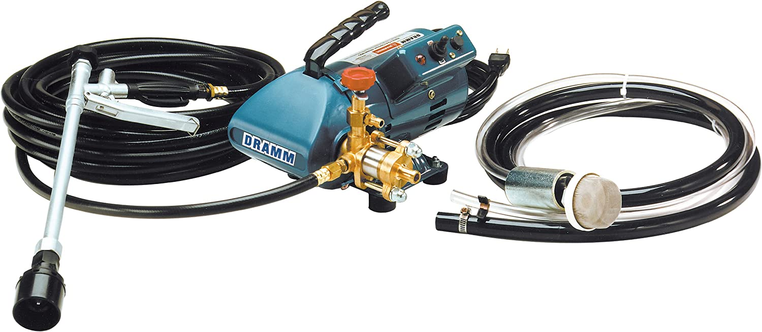 Dramm MSO Heavy Duty Sprayer with 33 Feet Discharge Hose, Adjustable Trigger Gun and Suction Hose