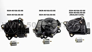 New Yamaha All-Terrain-Vehicle Four Wheel Drive Servo/Actuator Motor -  Replaces Parts 5KM-4616A-02-00 and 5GH-4616A-02-00 Fits 1998-2007 Yamaha  Models