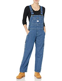Tymhgt Womens Casual Sweet Hole Washed Long Denim Overalls Long Pants