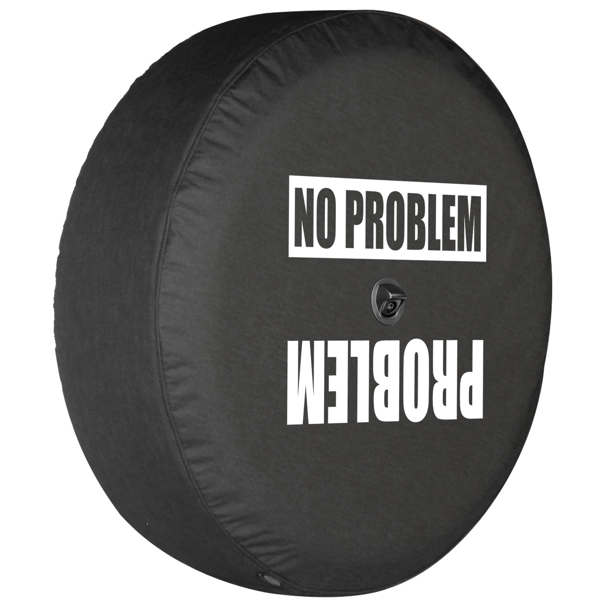 American Educational Products Marine Grade Top Quality Blank Black Dealer Quality Spare Tire Cover Vinyl Black 29 in