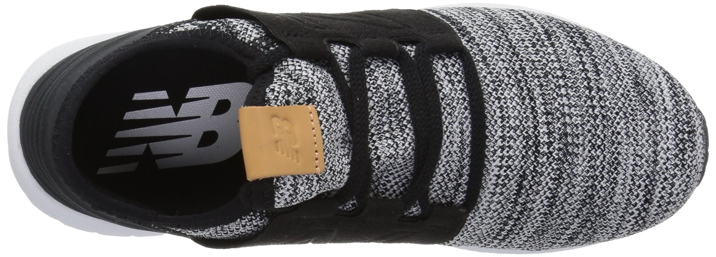New Balance Men's Cruz V2 Fresh Foam Running Shoe, white/black, 7 D US by New Balance (Image #7)