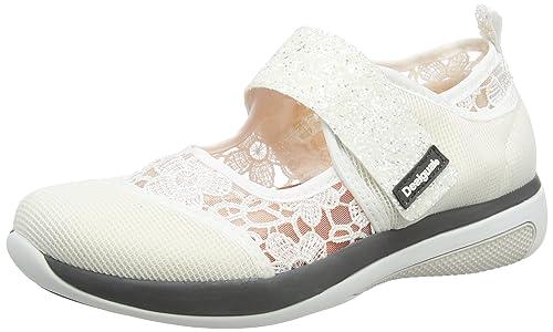 Desigual Dub Lace, Zapatillas para Mujer, Blanco (White 1000), 39 EU: Amazon.es: Zapatos y complementos