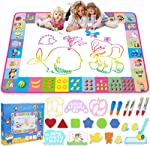 Water Doodle Mat - Kids Painting Writing Doodle Toy Board -