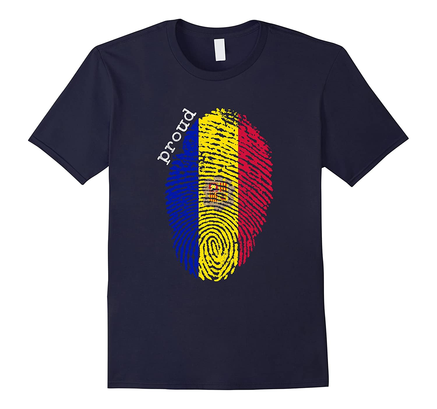 Andorra flag t-shirt - Andorra National Flag-TD