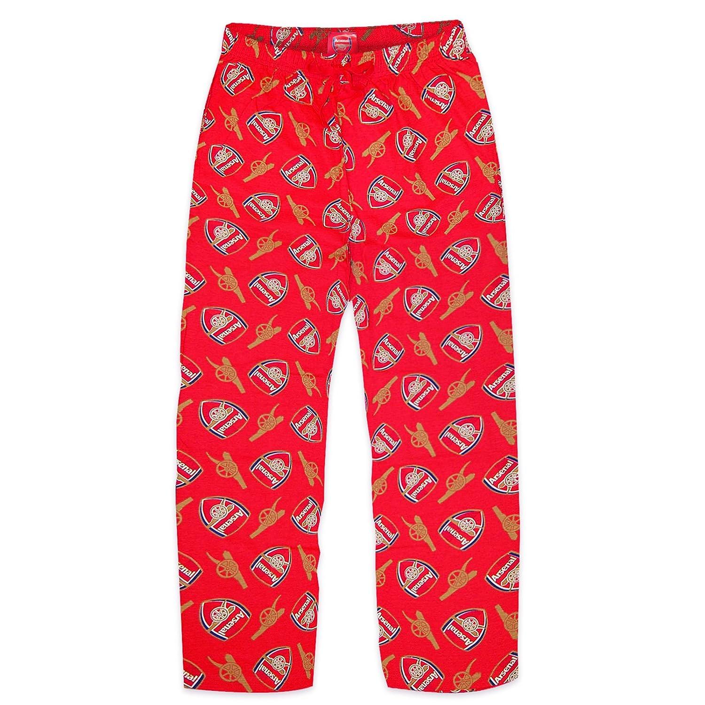 Arsenal FC Official Football Gift Mens Lounge Pants Pyjama Bottoms