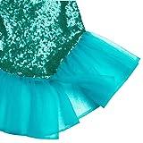 Freebily 2pcs Baby Girls Shiny Mermaid Tails Dress