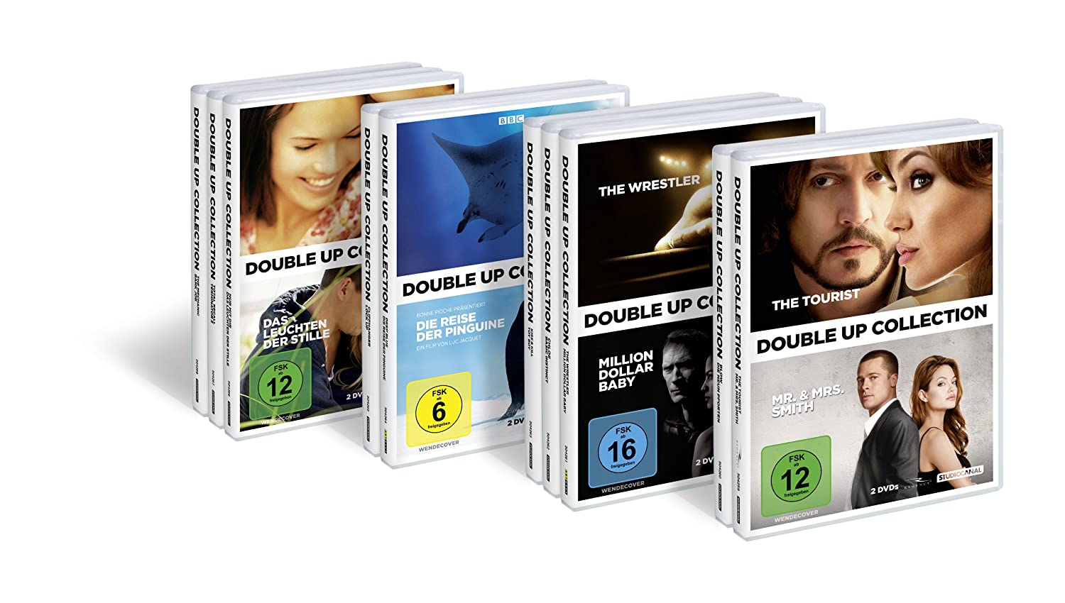 The Tourist Mr Mrs Smith Double Up Collection 2 Discs Amazon