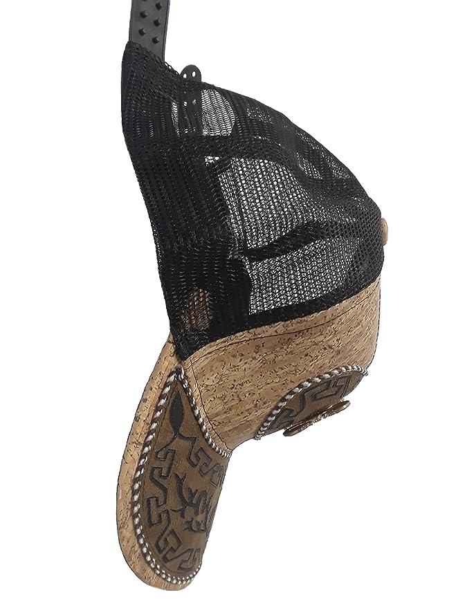 Gorra Charra Alacran ID 201 GOX2 Negro/Beige at Amazon Mens Clothing store: