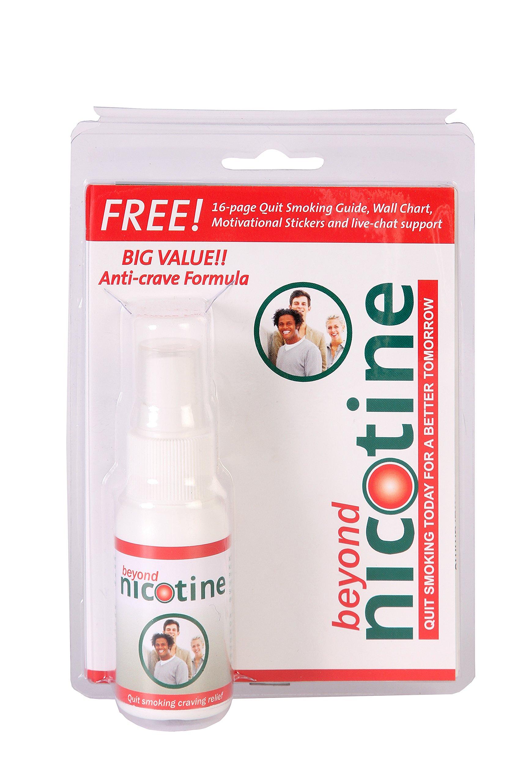 Beyond Nicotine Quit Smoking Oral Spray