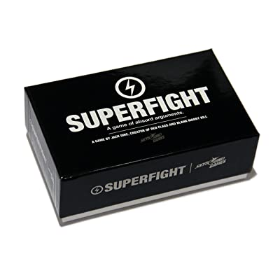 SkyBound Superfight a Card Game of Absurd Arguments | Fun Family Friendly, Party Game of Super Powers and Super Problems, Enjoyed by Kids, Teens, and Adults, 500-card Deck, 3 or More Players, Ages 8+: Toys & Games