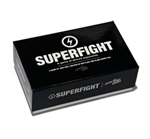 Superfight : Card Game of Absurd Arguments | Fun Family Friendly, Party Game of Super Powers and Super Problems, Enjoyed by Kids, Teens, and Adults, 500-card Core Deck, 3 or More Players, Ages 8+