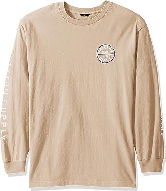 Brixton Mens Oath Iv Standard Fit Long Sleeve T-Shirt