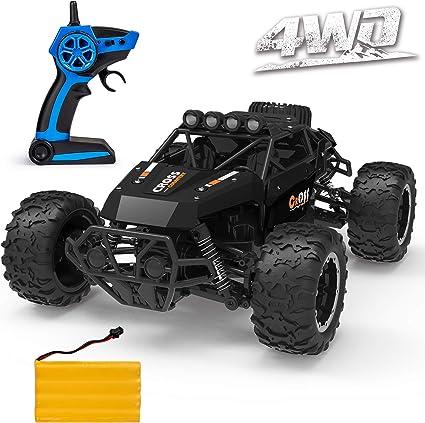 RC Car 1//:18 4WD Rock Crawlers 4x4 Fast Electric RC Car Remote Control Toy Gift