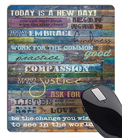 Amazoncom Wknoon Inspirational Quotes Vintage Rustic Barn Wood