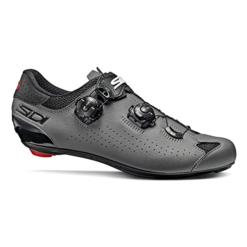 SIDI Scarpe Strada Genius 10 Nero Grigio: Amazon.it: Sport e