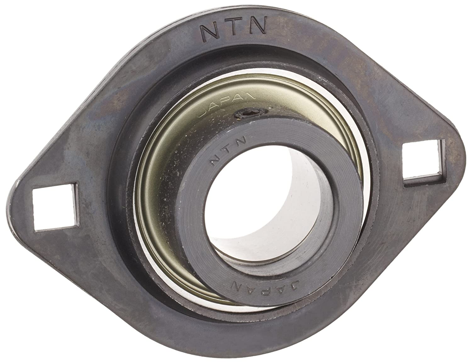 "1-3//16/"" Light Duty Two Bolt Flange Bearing W// Collar"