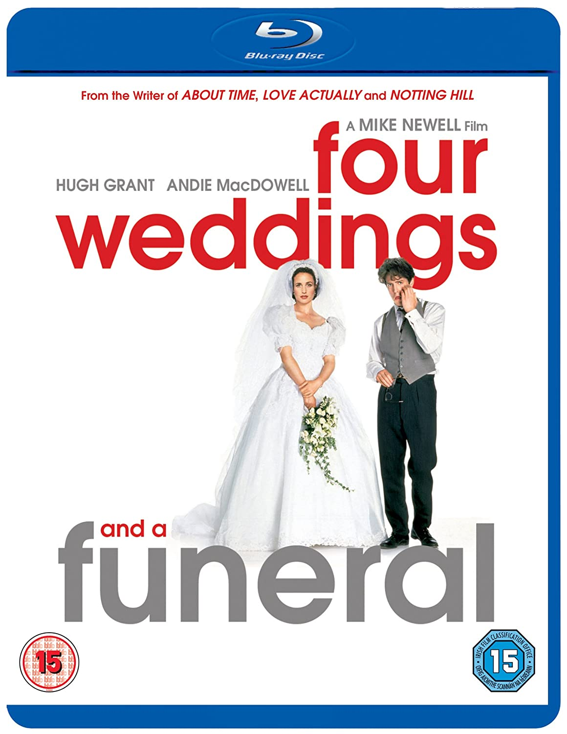 Four Weddings And A Funeral Blu Ray Amazon Hugh Grant